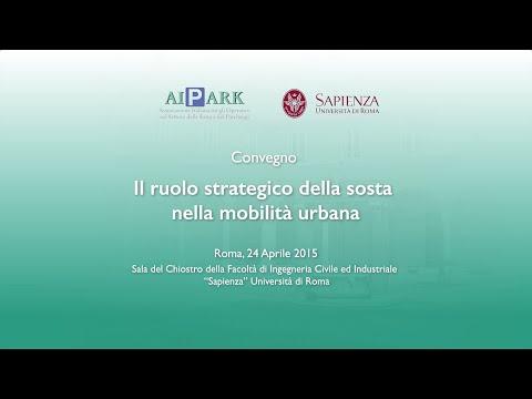 AIPARK – Convegno Roma – Il ruolo strategico della sosta nella mobilità urbana