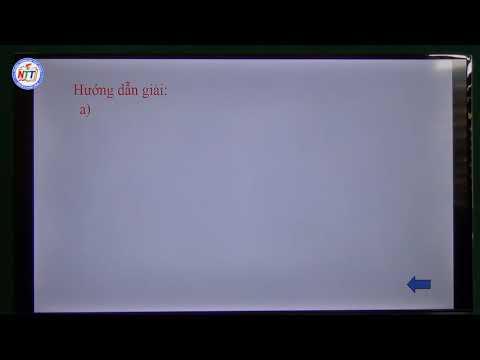 Toán 10 - Ôn tập HH chương 2