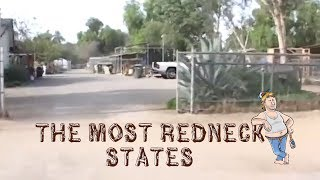 The 10 MOST REDNECK STATES in AMERICA