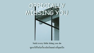 Officially Missing You : Jayesslee [Lyrics/Thaisub]