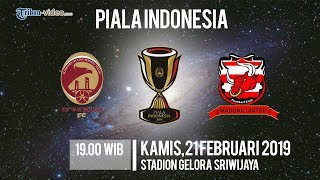 Link Live Streaming Piala Indonesia, Sriwijaya FC Vs Madura United, Kamis Pukul 19.00 WIB