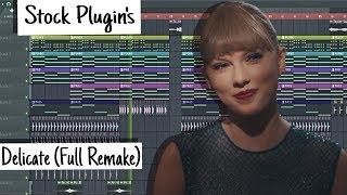 Taylor Swift - Delicate (FL Studio) [Instrumental]