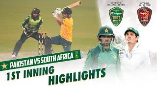 1st Inning Highlights | South Africa vs Pakistan | 3rd T20I 2021 | PCB | ME2E