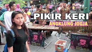 PIKIR KERI - Angklung Malioboro CAREHAL (Pengamen Jogja Kreatif) Via Vallen PIKER KERI