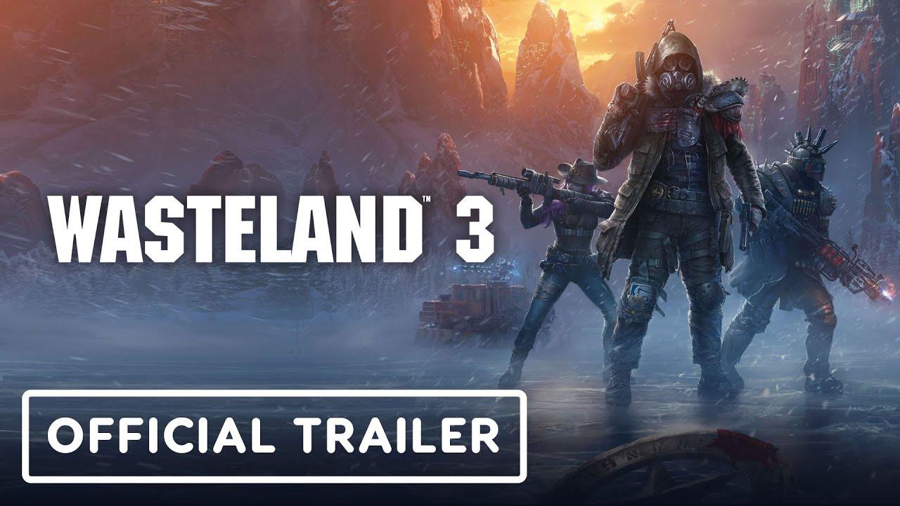Трейлер фракций в ролевой игре Wasteland 3