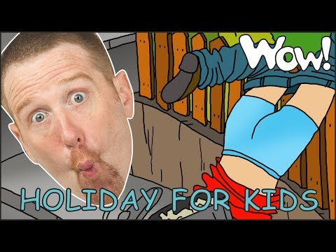 Holiday Story time for Kids from Steve and Maggie   Speaking and Learning Wow English TV