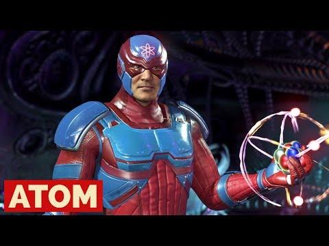 Injustice 2 - Atom Battle Simulator Gameplay & Atom Ending [PS4 Pro