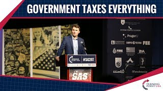 Charlie Kirk: Government Taxes Us Every Chance It Gets