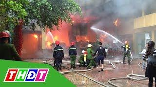 Cháy khách sạn 8 tầng ở Nghệ An, 1 người tử vong | THDT