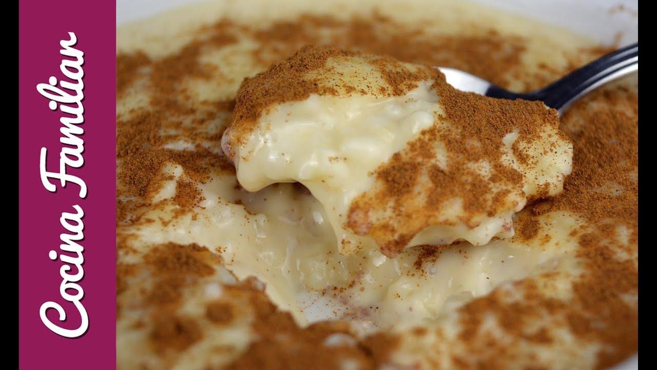 Como hacer arroz con leche, mi receta secreta| Javier Romero