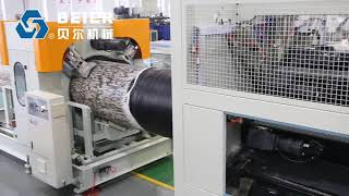 Beier Machinery 500--1200mm HDPE PIPE production line to Turkey