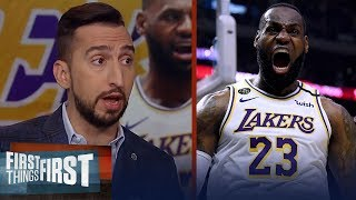 LeBron is the best player in the world & it's not close — Nick Wright | NBA | FIRST THINGS FIRST