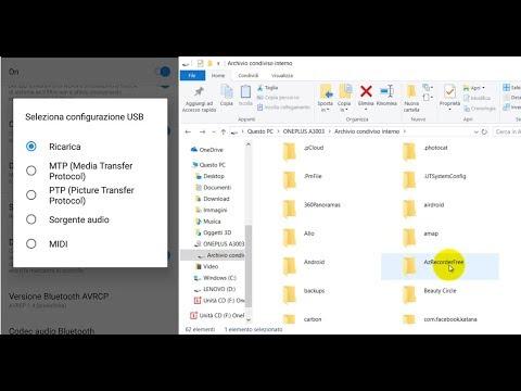 Come collegare cellulare Android a PC con cavo USB per trasferire i file tra i 2 dispositivi