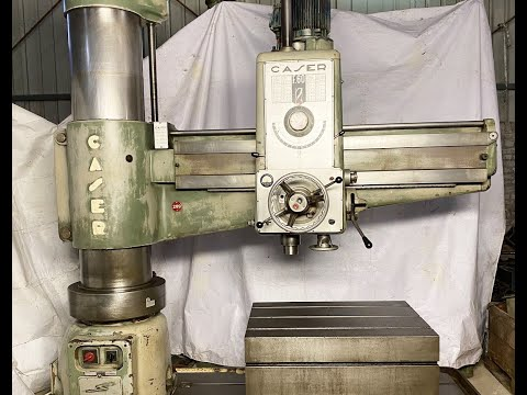 Caser 76 MM Radial Drilling Machine