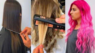 Haircut And Hair Color Transformation Ideas - Amazing Hairstyles Tutorials For Long Hair 2019