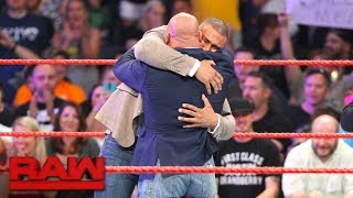 Kurt Angle reveals Jason Jordan is his long-lost son: Raw, July 17, 2017