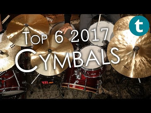 Top 6   Best-selling Cymbals   2017