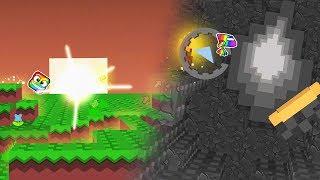 Geometry Dash + Minecraft