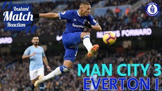 Manchester City 3-1 Everton | Instant Match Reaction