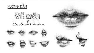 How To Draw Lips By Huta Chan, Art Drawing