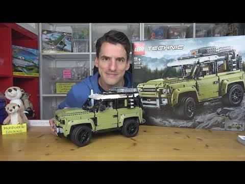 Wunderbares Vitrinen-Modell: LEGO® Technic 42110 - Land Rover Defender