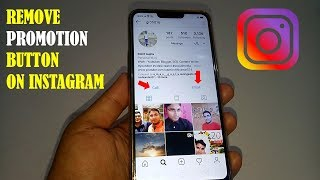 How to Remove Promotion Button On Instagram   Switch Back to Personal Instagram Account Easily!