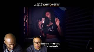 @3DNATEE FREESTYLE-Yo Gotti & Nicki Minaj - Rake It Up (REACTION!!!)