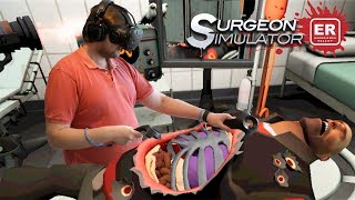БОБКОЗАМЕНИТЕЛЬ ► Surgeon Simulator VR: Meet The Medic