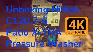 Unboxing Nilfisk C120.7-6 PC X-TRA Pressure Washer