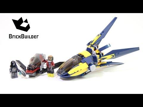 Vidéo LEGO Marvel 76019 : Le combat du Starblaster