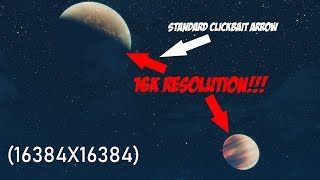 THE MOST RIDICULOUS SKYRIM MOON MOD I'VE EVER MADE! 16K RESOLUTION!!