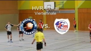 preview picture of video 'HVR Pokal - Viertelfinale: TV Nieder-Olm II vs. HSG Worms 28:25'