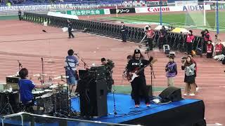 サンボマスター できっこないを やらなくちゃ 横浜FMハーフタイムライブ