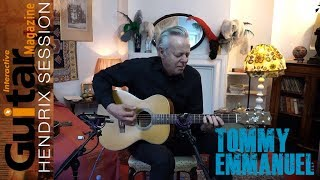 Gi Hendrix Session | Tommy Emmanuel Performs Purple Haze Inside Jimi Hendrix's 1960s Flat and More