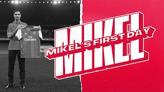 BEHIND THE SCENES | Mikel Artetas First Day | Arsenals New Head Coach