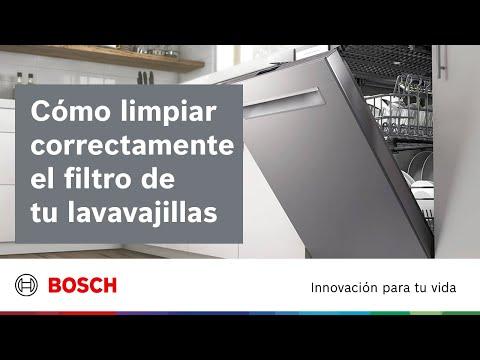 Cuidado y limpieza | ¿Cómo limpiar el filtro del lavavajillas?