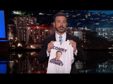 Late night reacts to Comey firing