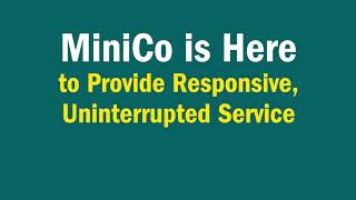 MiniCo Is Here To Support Your Business