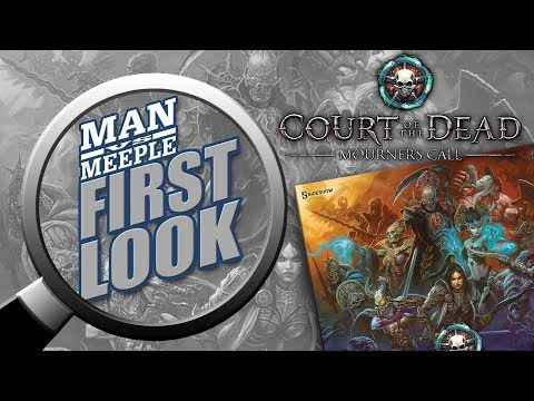 Court of the Dead First Look by Man Vs Meeple