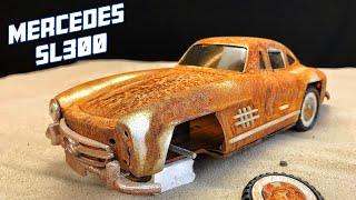 Restoration Toy Mercedes SL 300 - 1956s Car Burned 🔥