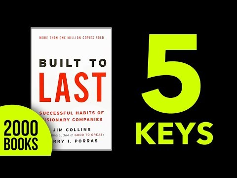 Built to Last Book Summary Jim Collins
