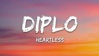 Diplo   Heartless (Lyrics) Ft. Morgan Wallen