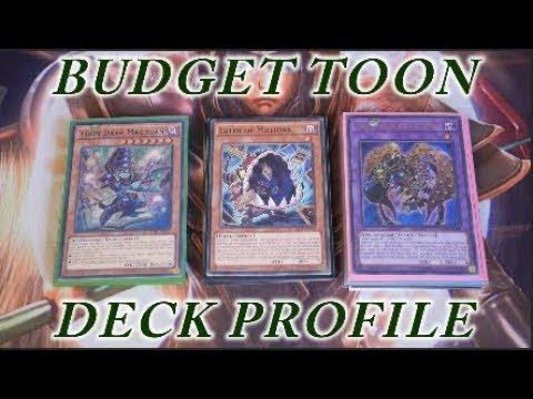 YUGIOH BUDGET Toon Deck Profile