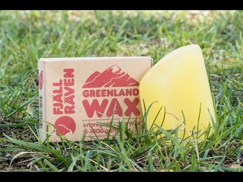 fjällräven grönlandwachs -G 1000 u. Baumwollgewebe - Anleitung u Anwendung