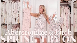 Spring ABERCROMBIE & FITCH try on haul 2021 ~ 🌸 Spring Fashion Edit 🌸 ~ Freddy My Love