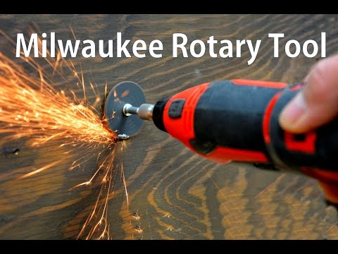 Milwaukee M12 Rotary Tool / Cordless Rotary Tool Review