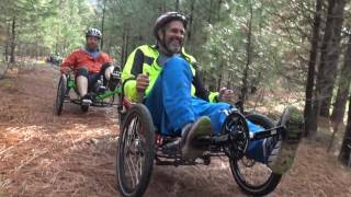 Klickitat Trail on Recumbent Trikes
