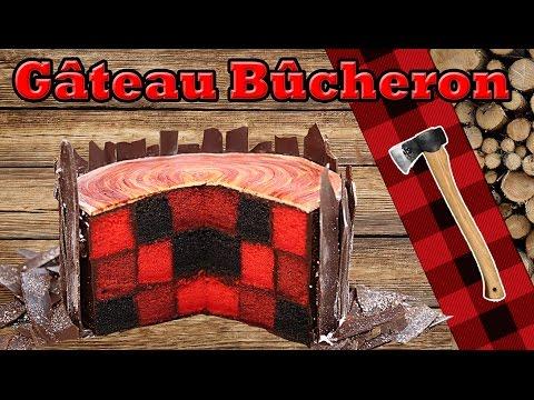 gâteau damier de bûcheron
