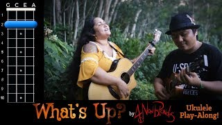 """""""What's Up?"""" (4 Non Blondes) Ukulele Play Along!"""