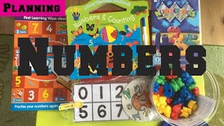 Early Years Planning - Childminding Topic - Numbers - Maths - COUNTING - EYFS - CHILDMINDING MUMMY